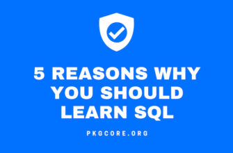 5 Reasons Why You Should Learn SQL